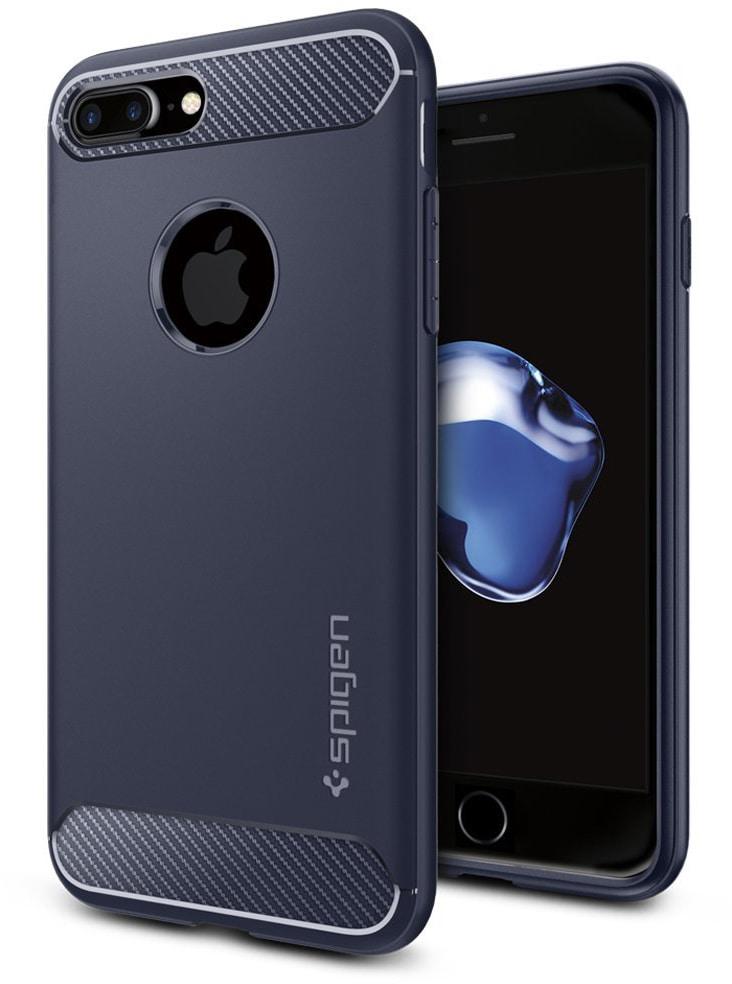 Spigen Rugged Armor (043CS21190) - чехол для iPhone 7 Plus (Midnight Blue)