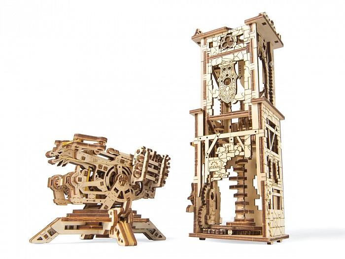3D-пазл UGears Башня-аркбаллиста (Archballista Tower)