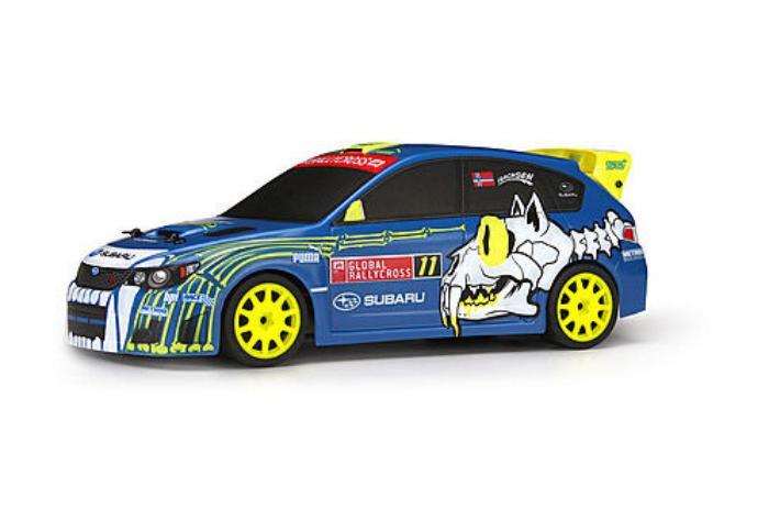 HPI Racing Радиоуправляемая машина Туринг 1/18 - MICRO RS4 SUBARU WRX STI #11 SVERRE ISACHSEN (Влагозащита, поный комплект)