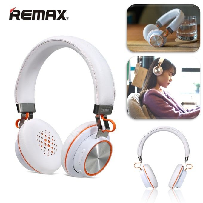 Стереонаушники Bluetooth Remax RB-195HB (белый)