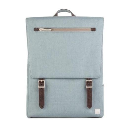 """Рюкзак Moshi Helios Lite для ноутбуков размером до 13"""" дюймов. Материал: полиэстер/нейлон. Цвет: голубой."""