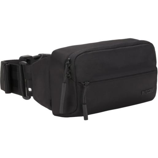 Поясная сумка Incase Sidebag для смартфона и аксессуаров. Материал нейлон. Цвет черный.