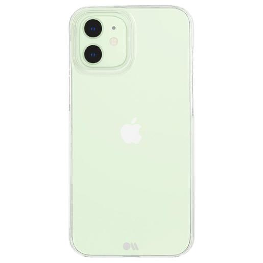 Чехол-накладка Case-Mate Barely There для iPhone 12 mini. Материал: поликарбонат. Размер изделия: 13.3 x 6.6 x 1.39 см. Цвет: прозрачный.