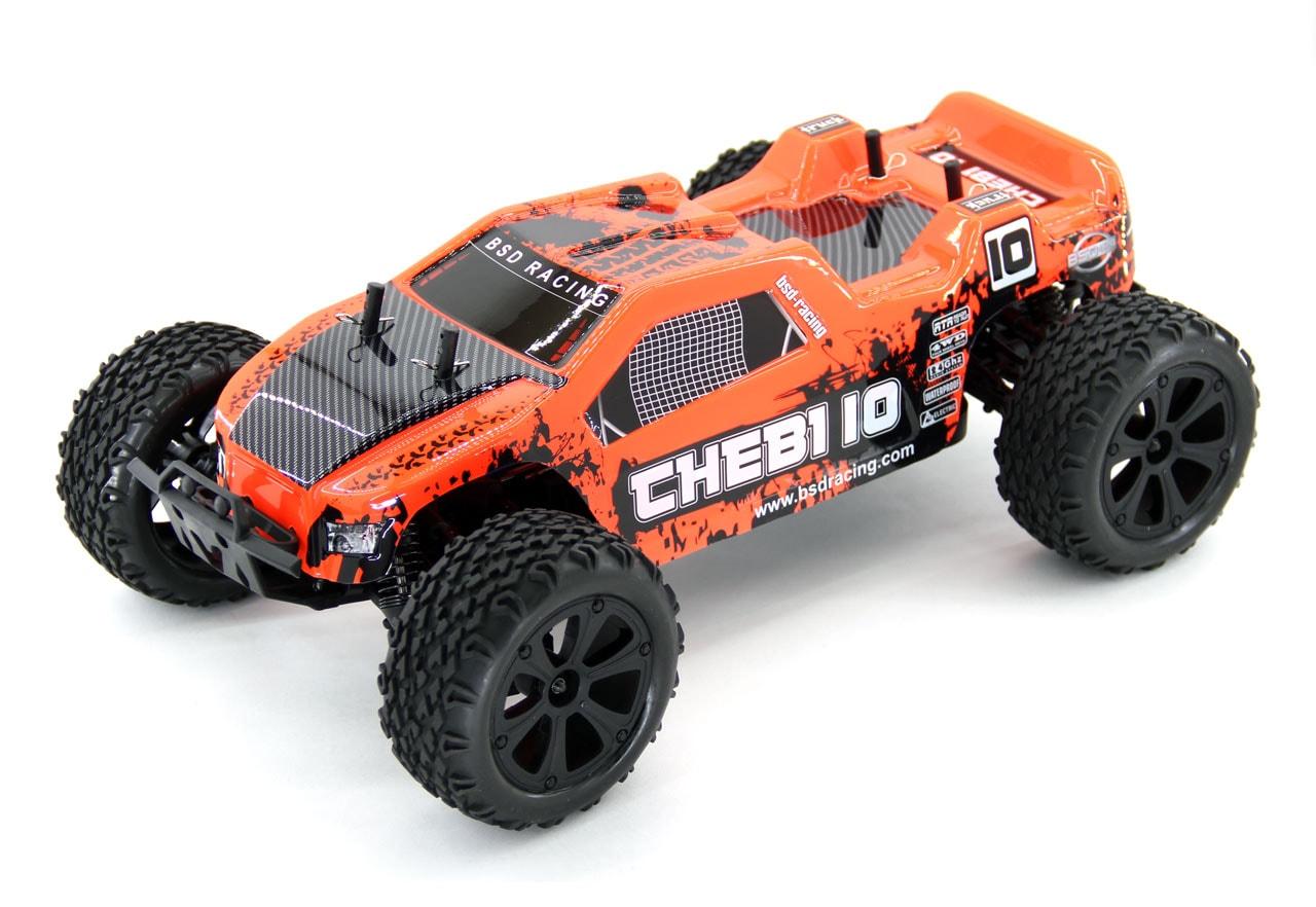 BSD Радиоуправляемая машина Трак 1/10 4WD Chebi10 (Коллекторнная, 1800мАч, Ni-mh 2.4G)