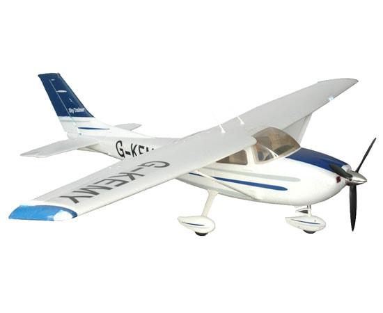 FMS Радиоуправляемый Самолет - Cessna-182 1400мм RTF (акк. 2200мАч, ЗУ)