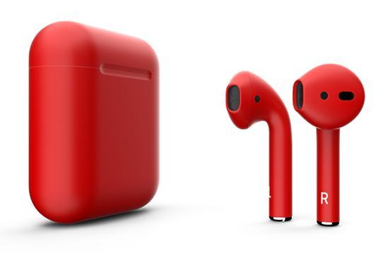 Беспроводные наушники Apple AirPods Color (Matt Red)
