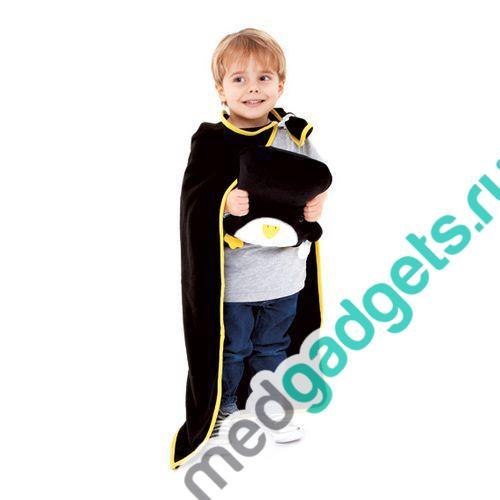 Дорожный набор Подушка с пледом Пингвин Trunki