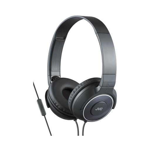 Наушники JVC накладные легкие, модель HA-SR225-B-E. Цвет: черный JVC Наушники накладные легкие, модель HA-SR225-B-E. Цвет: черный