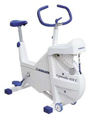 Вертикальный велотренажер Monark Ergomedic 828E