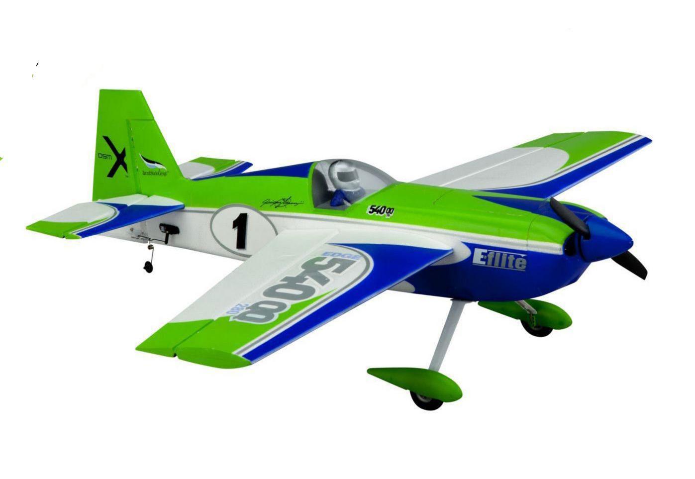 E-flite Радиоуправляемый Самолет - Edge 540QQ 280 660мм BNF Basic