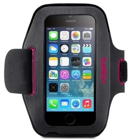 Belkin Slim-Fit Armband (F8W500BTC01) - чехол на руку для iPhone 6 (Grey/Pink)