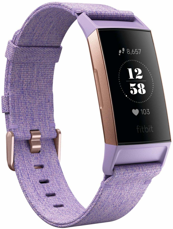 Спортивный браслет Fitbit Charge 3 Special Edition (Purple/Rose Gold)