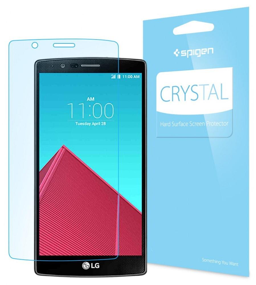 Spigen LCD Film Crystal CR (SGP11512) - защитная пленка для LG G4