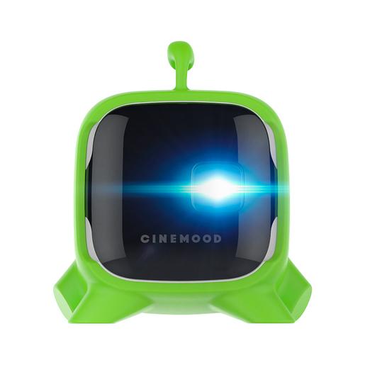 CINEMOOD Чехол пластиковый для проектора. Дизайн Ам Ням - цвет зеленый