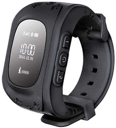Кнопка жизни К911 - детские часы-телефон с GPS-геолокацией (Black)