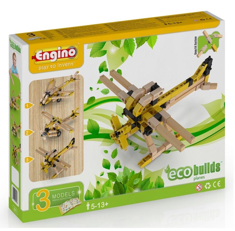 Конструктор Engino ECO BUILDS. Самолеты