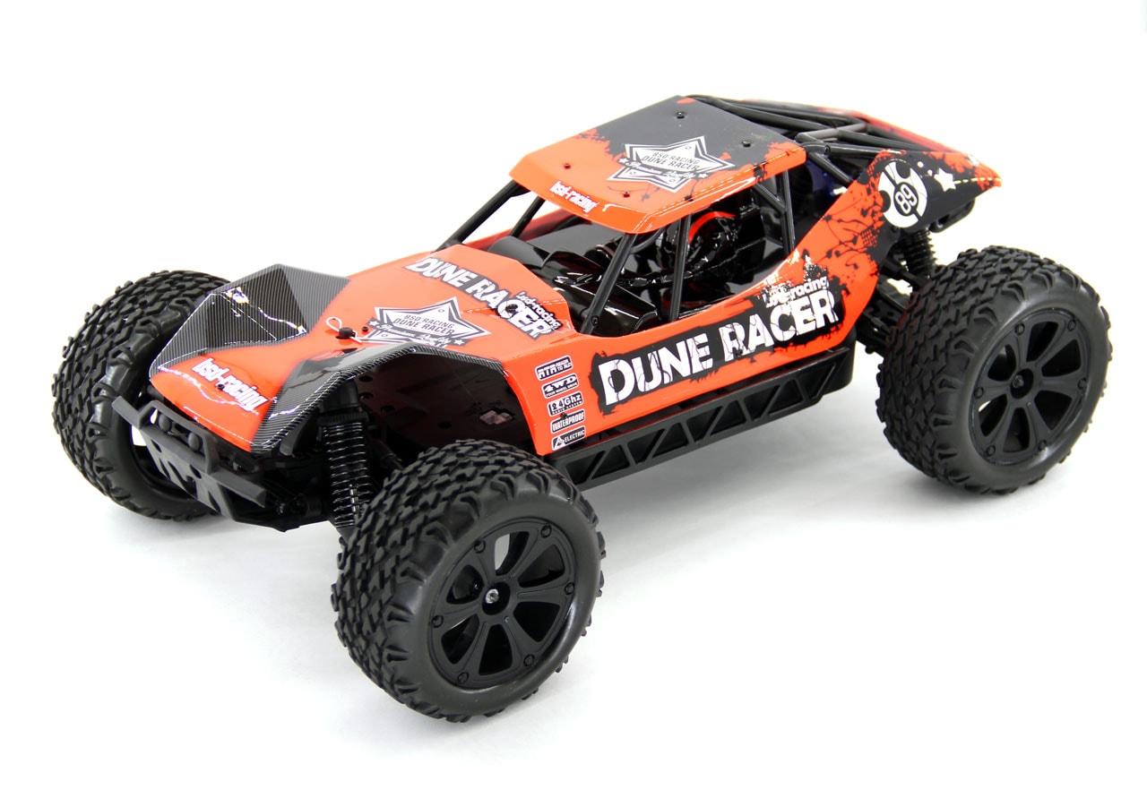 BSD Радиоуправляемая машина Багги 1/10 4WD Dune Racer (Коллекторная, 1800мАч, Ni-mh 2.4G)