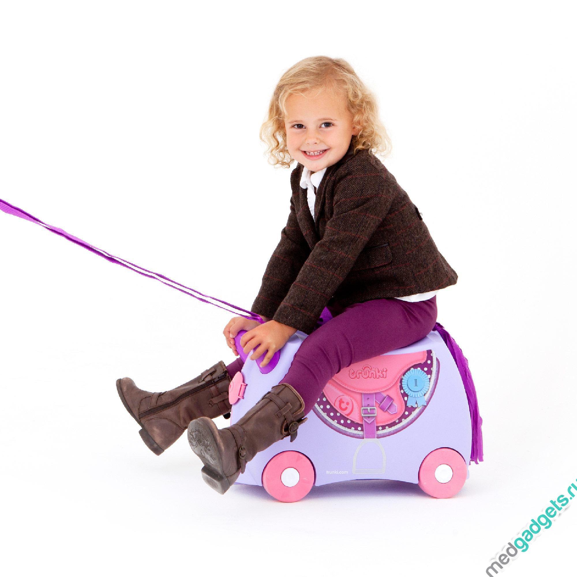 Чемодан на колесиках Пони Trunki