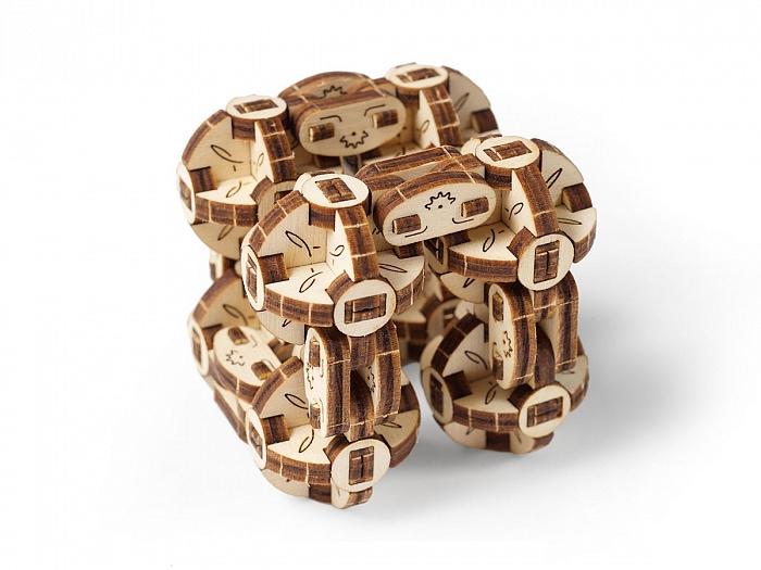 3D-пазл UGears Сферокуб (Flexi Cubus)