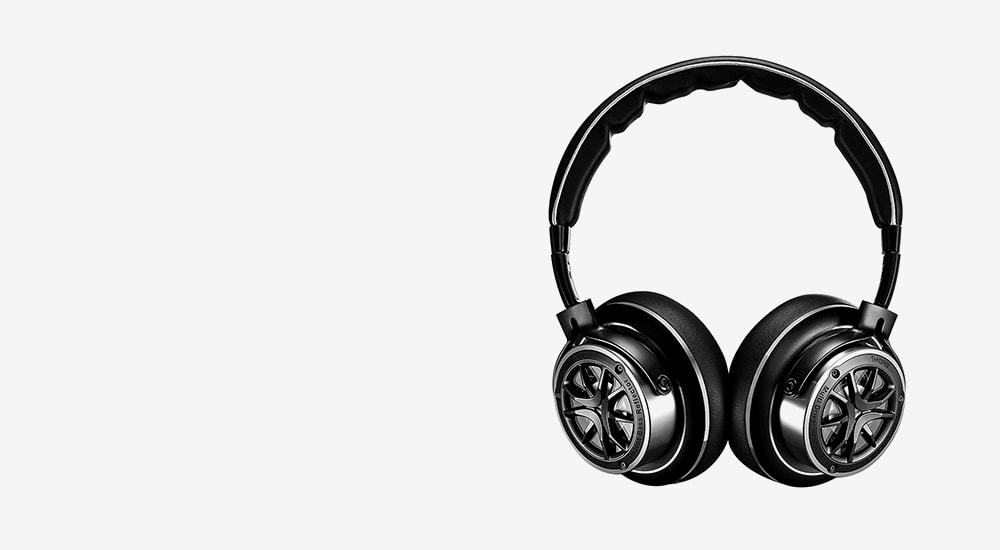 Стерео-наушники накладные 1MORE H1707 Triple Driver Over-Ear Headphones (1MEJH0006) Black/Silver
