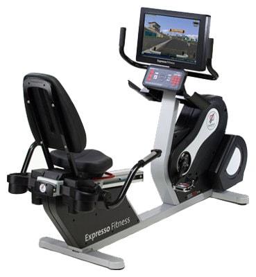 Горизонтальный велотренажер Expresso Fitness S2R