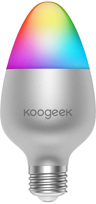 Умная лампа Koogeek Colors Wi-Fi Smart Light Bulb E26 (B07DLQQR54)