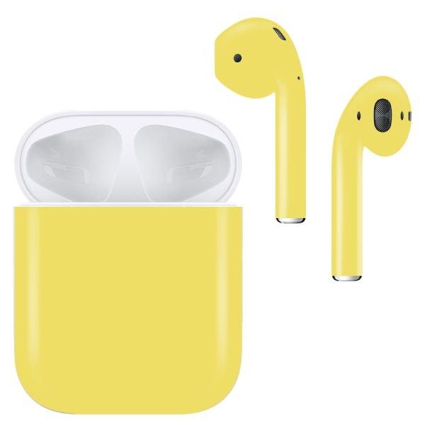 Беспроводные наушники Apple AirPods Color (Matte Yellow)