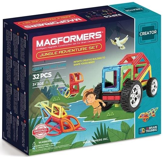 Magformers Adventure Jungle Set (703009) - магнитный конструктор