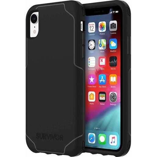 Чехол защитный Griffin Survivor Strong для iPhone XR. Материал пластик. Цвет черный.