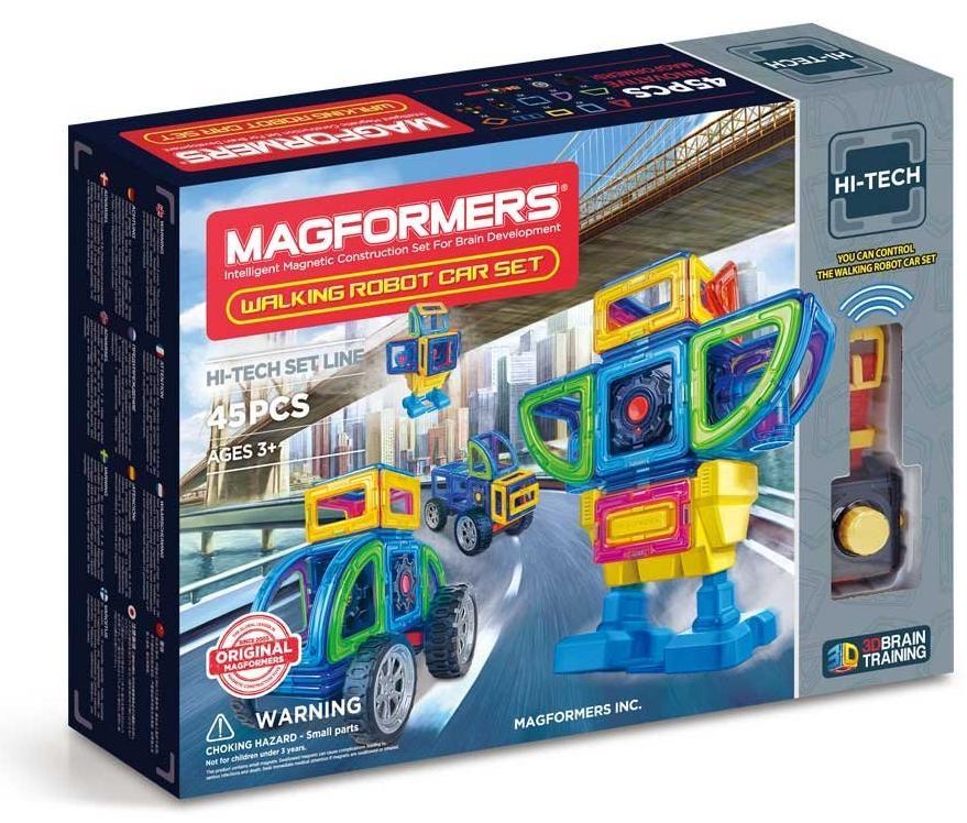 Магнитный конструктор Magformers Walking Robot Car Set 45 (709008)
