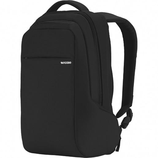 """Рюкзак Incase Icon Mini Backpack для ноутбуков размером до 13"""" дюймов. Материал полиэстер, нейлон. Цвет черный."""