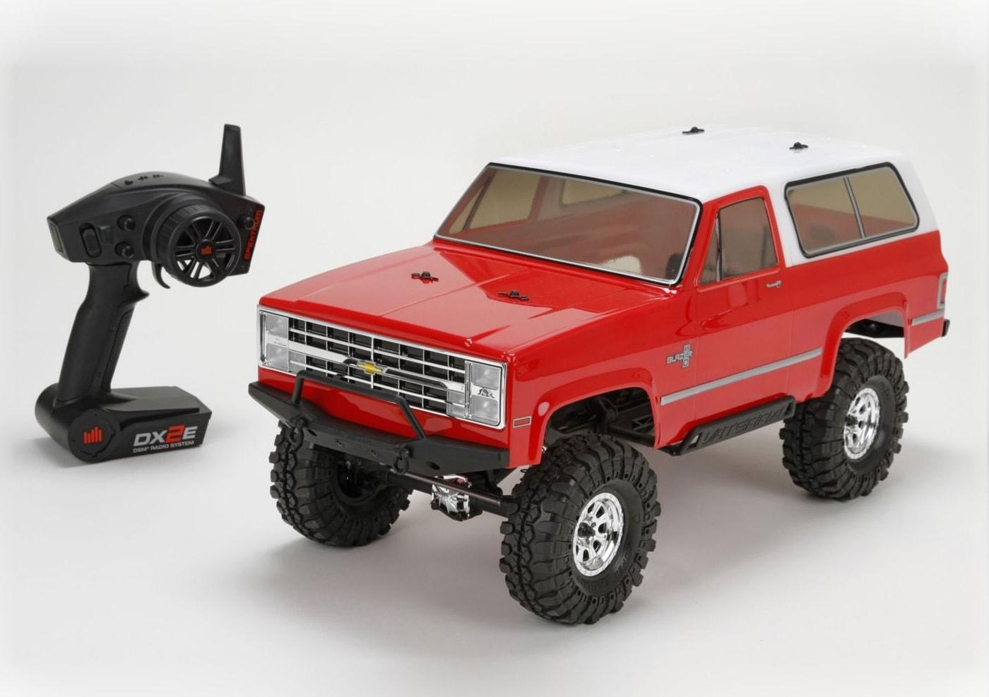 Vaterra Радиоуправляемая машина Краулер 1/10 - 1986 Chevrolet K-5 Blazer Ascender 4WD RTR