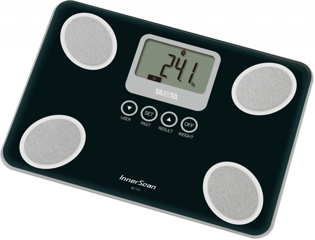 Напольные весы с анализатором жировой массы Tanita BC-731 (Black)
