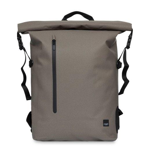 "Рюкзак водозащитный Knomo Cromwell для ноутбука до 14"". Материал TPU полиуретан. Цвет хаки."