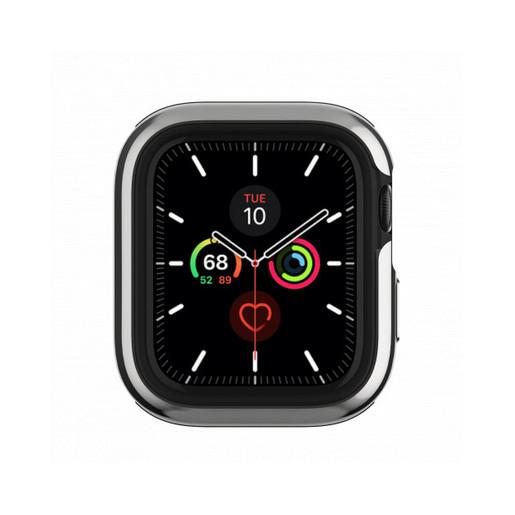 "Бампер SwitchEasy Odyssey для Apple Watch 5 и 4 40mm"". Цвет серебряный."