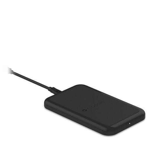 Зарядная станция Mophie Wireless Charging Base для чехлов Mophie, поддерживающих индукционную зарядку.