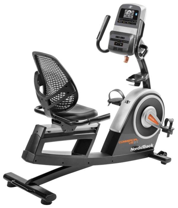 Горизонтальный велотренажер NordicTrack Commercial VR21 (NTEVEX76017)