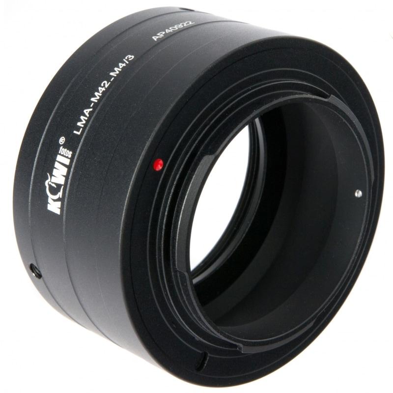 Переходное кольцо JJC KIWIFOTOS LMA-M42_M4/3 (M42-Micro 4/3)