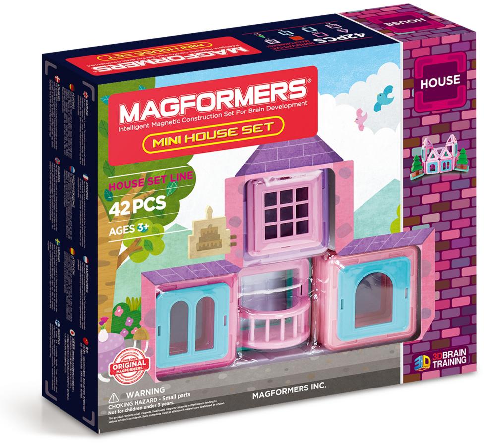 Магнитный конструктор Magformers Mini House Set (705005)