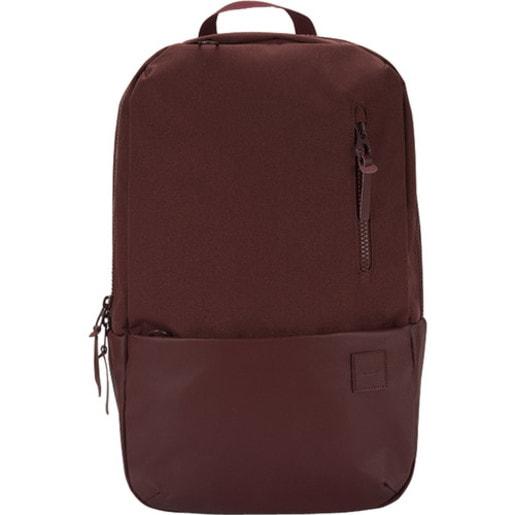 """Рюкзак Incase Compass для ноутбуков 15"""". Материал полиэстер. Цвет темно-красный."""
