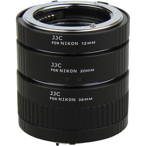 Набор удлинительных колец JJC AET-NS 12mm, 20mm, 36mm для NIKON F