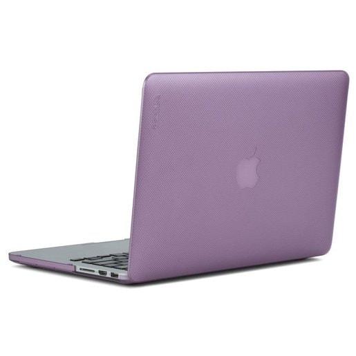 """Чехол-накладка Incase Hardshell Dots для ноутбука MacBook Pro Retina 13"""". Материал пластик. Цвет фиолетовый."""