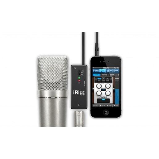 Мобильный микрофонный интерфейс IK Multimedia iRig Pre для устройств на базе iOS и Android