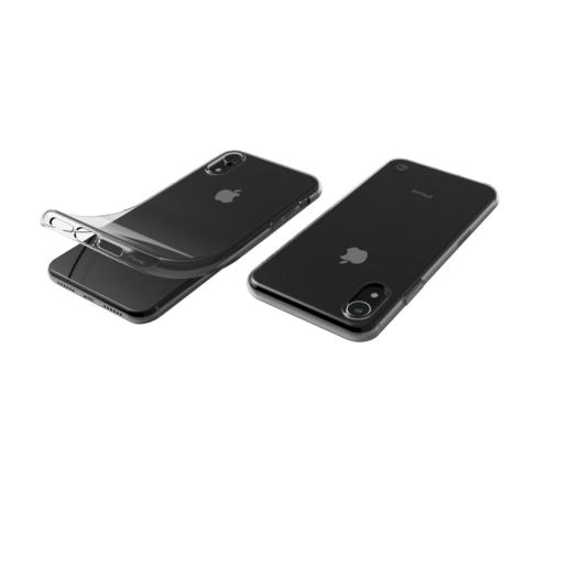 Чехол LAB.C Slim Soft для iPhone XR. Материал пластик. Цвет прозрачный.