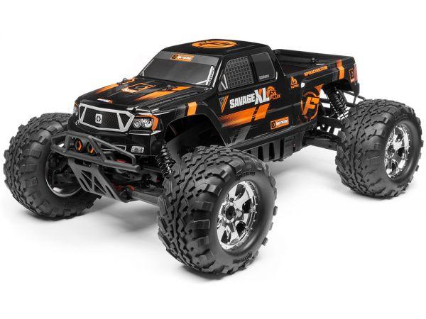 HPI Racing Радиоуправляемая машина Монстр 1/8 электро - SAVAGE XL FLUX RTR
