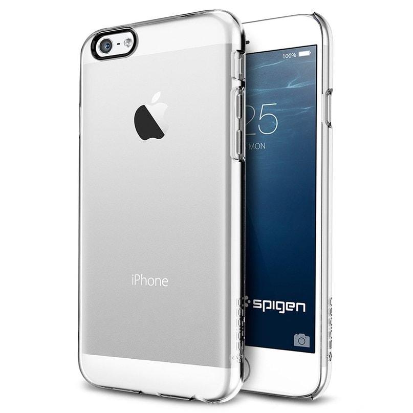 Spigen Thin Fit Series (SGP10939) - накладка для iPhone 6 (Crystal Clear)