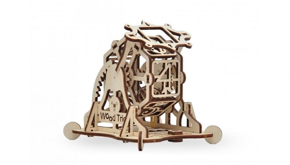 Механический 3D-пазл из дерева Wood Trick Колесо Фортуны