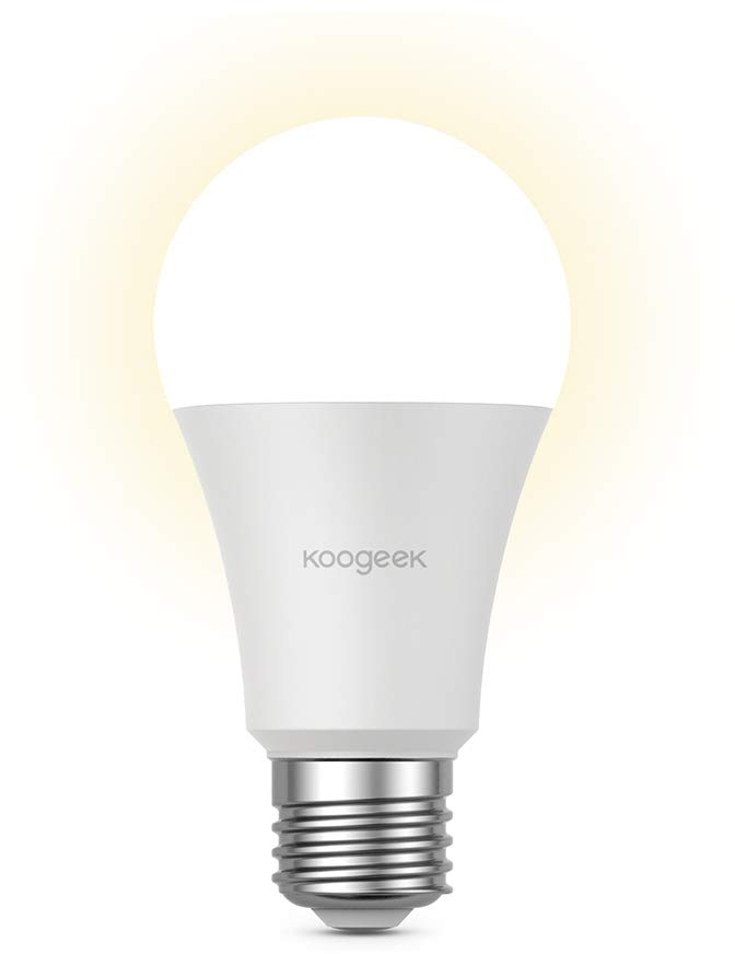 Умная лампа Koogeek Dimmable Wi-Fi Smart Light Bulb E26 (B07JM3MZLL)