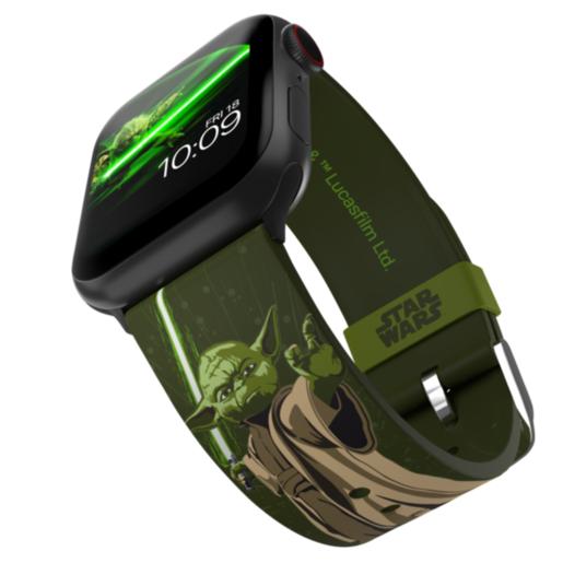 Ремешок MobyFox STAR WARS - Yoda Edition, зеленый (для Apple Watch, все размеры)