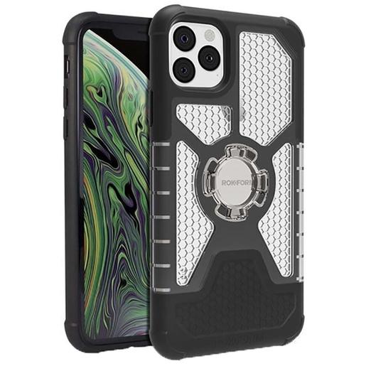 Чехол-накладка Rokform Crystal Wireless для iPhone 11 Pro со встроенным неодимовым магнитом. Материал: поликарбонат. Цвет: прозрачный. Rokform Crystal Wireless Case for iPhone 11 Pro - Clear